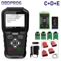 OBDPROG MT601 Car Key Programmer Mileage Odometer Correction Tool Pin Code Reader EEPROM OBD2 Car Diagnostic Tool 4 in 1 PK X100