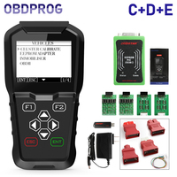 OBDPROG MT601 Car Key Programmer Mileage Odometer Correction Tool Pin Code Reader EEPROM OBD2 Car Diagnostic Tool 4 in 1 PK X100