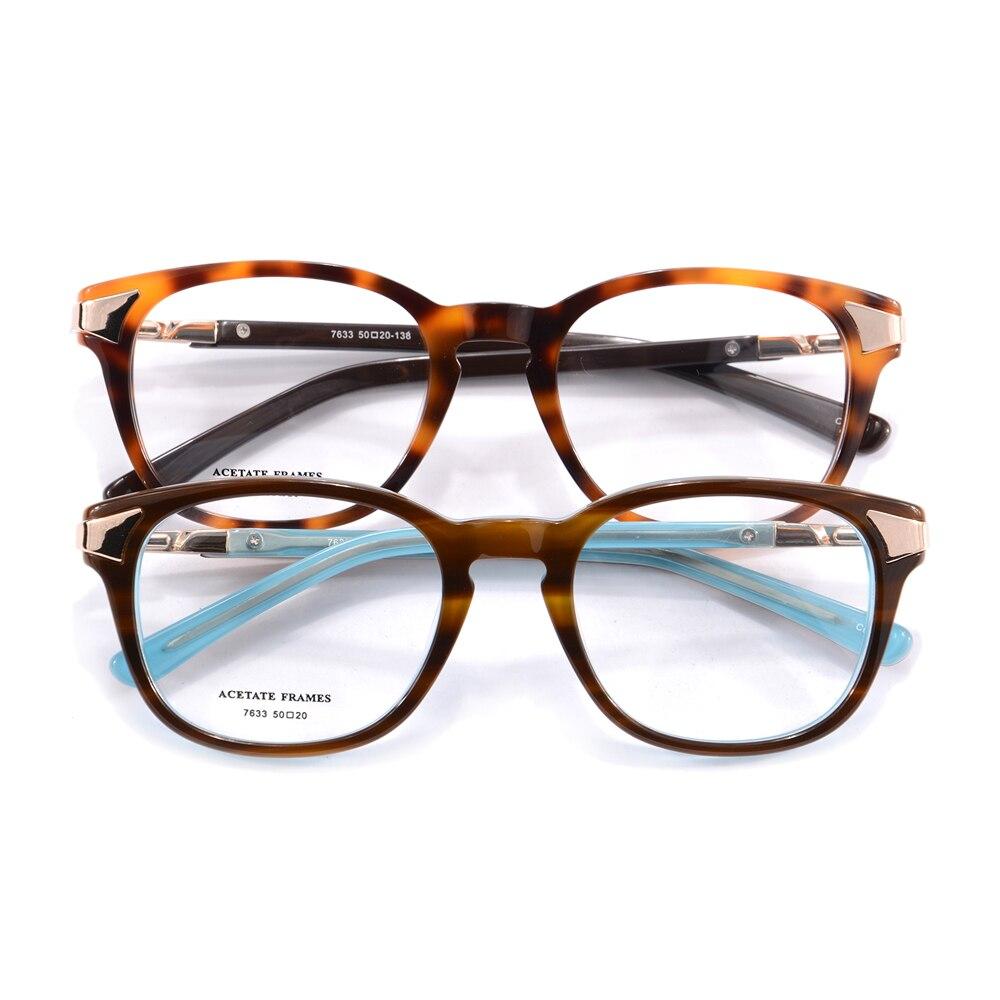most popular eyeglasses l96k  Wholesale High Quality Acetate Optical Eyeglasses Frames Flexible Computer  Glasses Women Men Brand Designer Eyewear Gafas