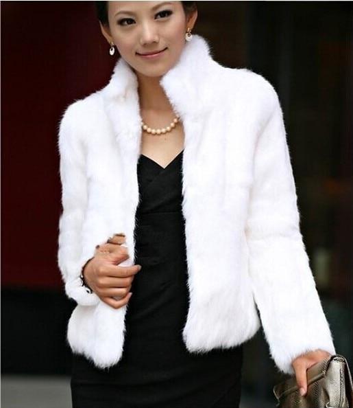 White Moelleux Outwear Élégante Court black Réel De D'hiver Renard Élégant Blanc Femmes Conception Fourrure Manteau qwOR8v8T