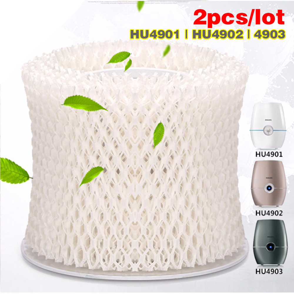 2pcs/lot OEM HU4101 humidifier filters,Filter bacteria and scale for Philips HU4901/HU4902/HU4903 Humidifier Parts цена 2017