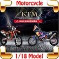 Новый Год Подарок KTM 1/18 Модель Коллекция Мотоциклов Игрушки Автомобиль Украшения литого Мини Модель Масштаб Мотоцикл Мальчики настоящее