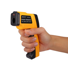 Best Buy 1 x Non Contact Digital Laser infrared thermometer GS320 -50~360C (-58~680F) Themperature Pyrometer IR Laser Point Gun