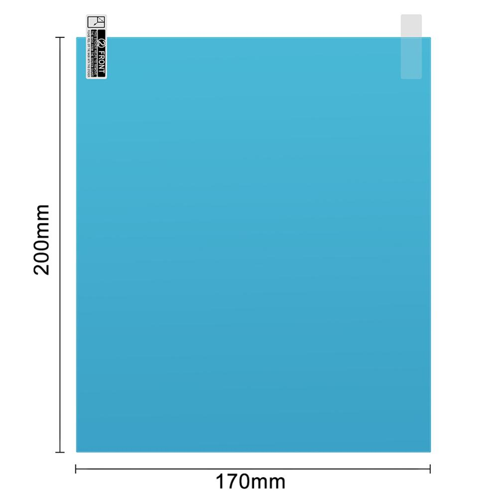 Image 2 - 2pcs/set 175*200MM Car Window Anti Water Mist Anti Fog Rainproof Window Protective Film Universal Waterproof Car Sticker Film-in Side Mirror Folding Kit from Automobiles & Motorcycles