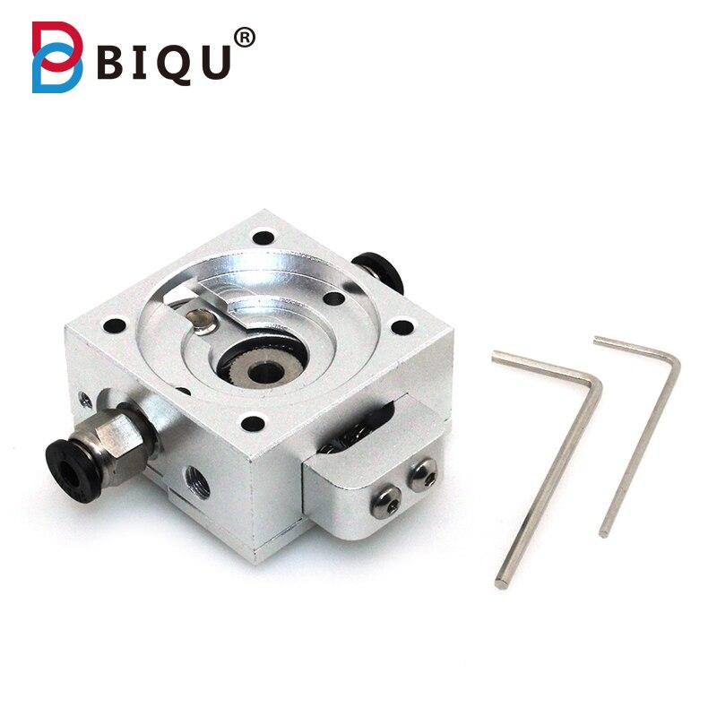 BIQU 3D Printer Extruer DIY Reprap Aluminum Bulldog Extruder Parts Remote Compatible J head MK8 Remotely