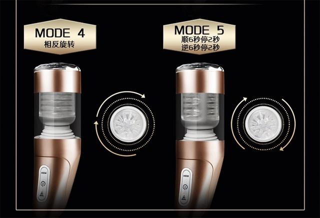 Electric Male Masturbator USB Charging Automatic Telescopic Rotating