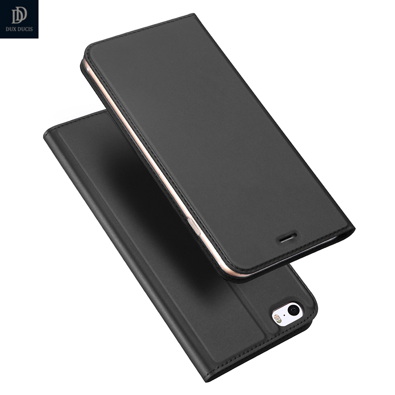 For iPhone 5s Case Luxury PU Leather Flip Case For iPhone 5 Case 5s Coque iPhone SE Case Stand Cover Protective Phone bags New
