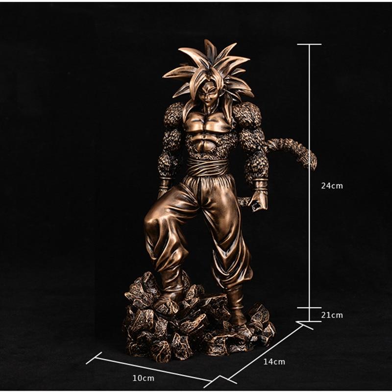 24CM Dragon Ball Son Goku Super Isaiah GK Akira Toriyama DBZ A Martial Arts World Figure Collection Model Toy M184 - 4