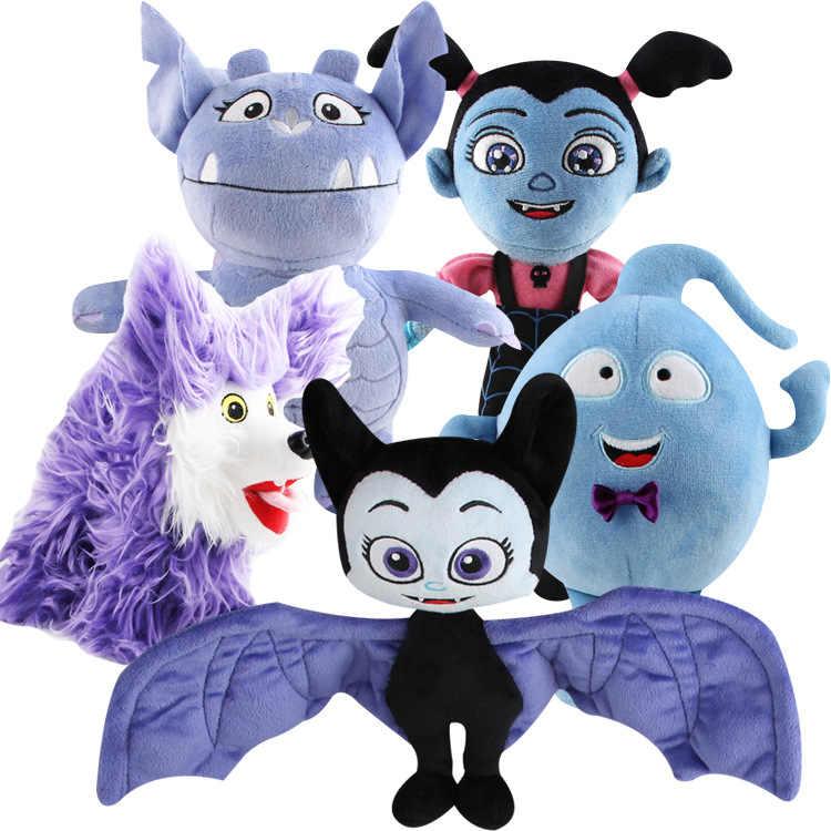Movie Junior Vampirina Stuffed Plush Toys The Vamp Girl Dogs 14-25cm Dolls Action Figure Toys For Girls Bithday