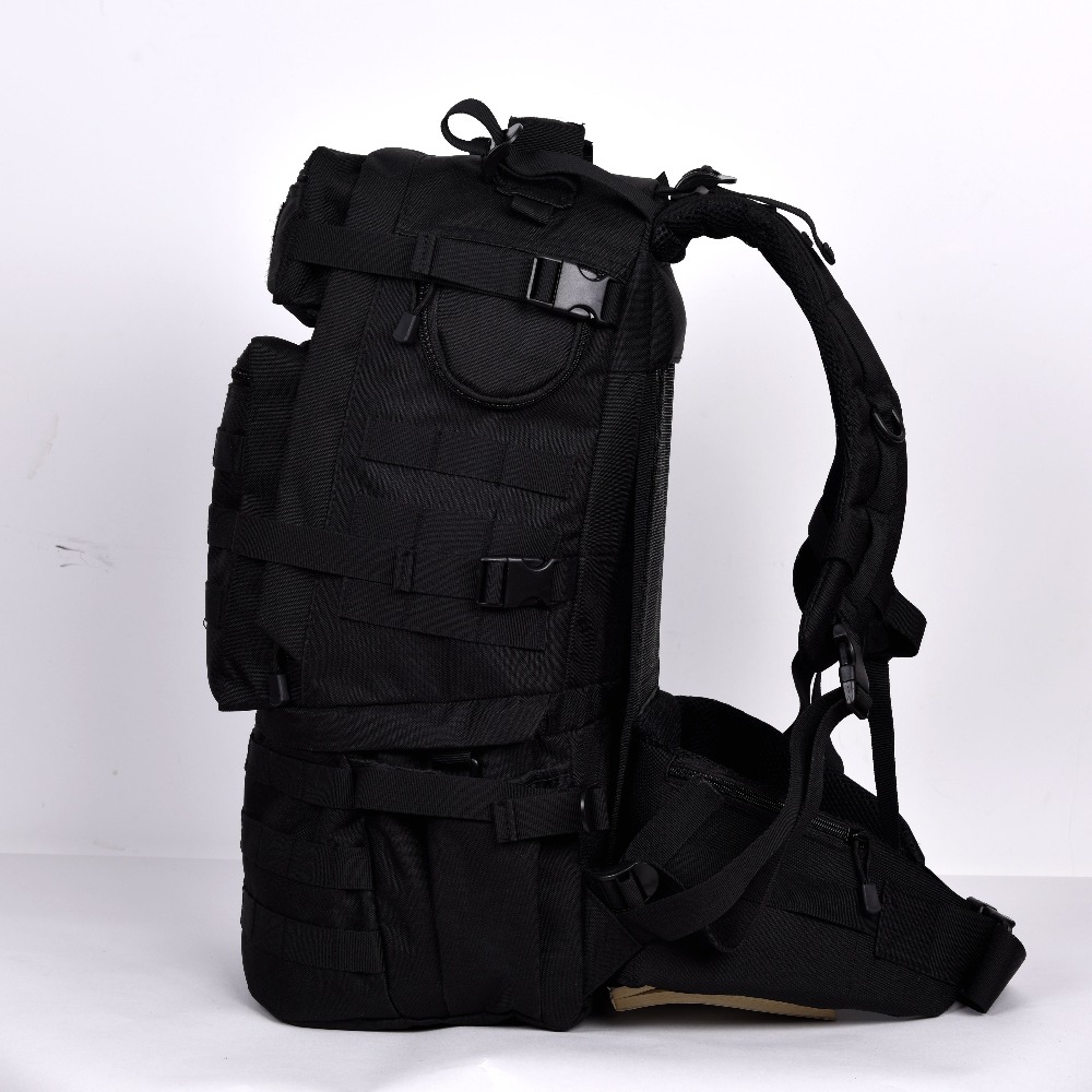 45L Outdoor Military Army Tactical Backpack Trekking Sport Travel Rucksacks Camping Hiking  Camouflage Bag 3p men women outdoor military army tactical backpack trekking sport travel rucksacks camping hiking trekking camouflage bag