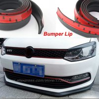 For VW Polo Golf Cross Fox Plus Scirocco CC For Skoda Fabia Octavia Car Bumper Lip Deflector Lips / Body Kit Strip / Front Tapes