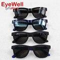 2016 new fashion unisex tr90 óculos para miopia alta qualidade grampo Em Óculos De Sol para Homens e Mulheres óculos de Sol Polarizado Lente 202