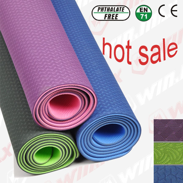 Здесь продается  Winmax Sport Mats for Yoga, Folding Gymnastic Mat , High Quality TPE Round  Yoga Mat  Спорт и развлечения