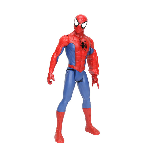 12 pouces Avengers Super héros Spider-man loin de la maison figurine daction Titan héros puissance FX Spiderman Titan héros série Marvel jouets