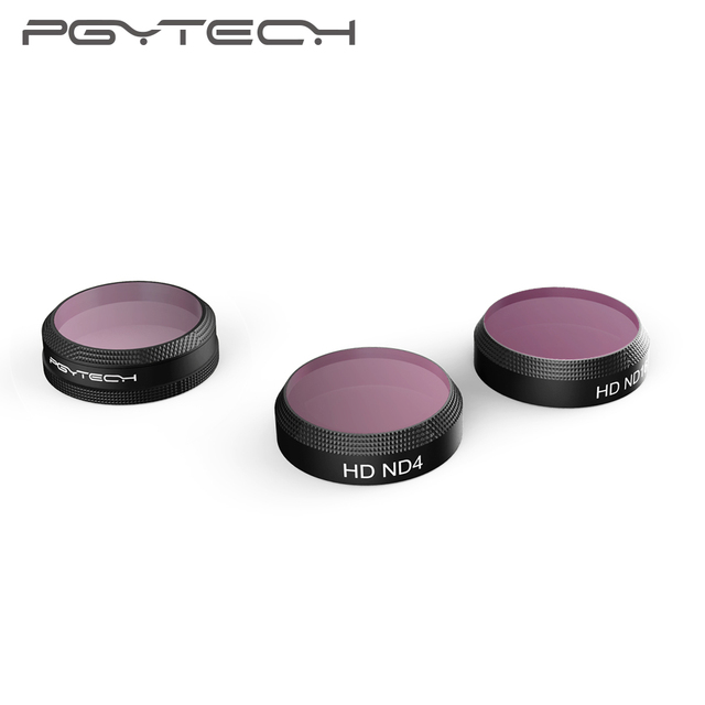 PGYTECH DJI Mavic air drone camera filters lens filter UV CPL ND filters kit for