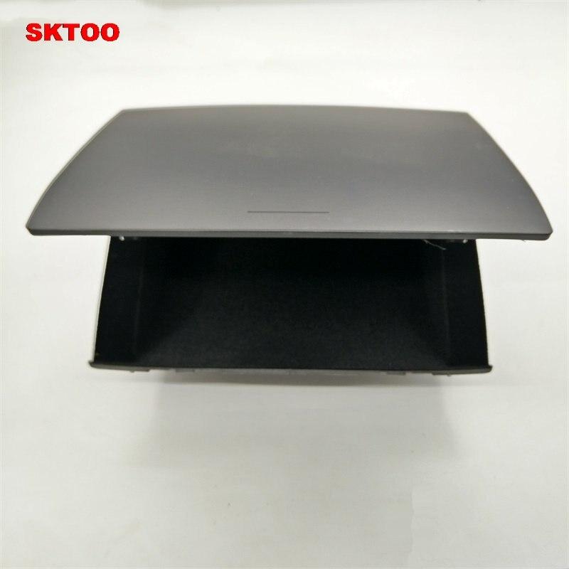 SKTOO Livraison gratuite pour VW POLO tableau de bord cubby boîte/center console boîte de rangement/boîte de débris pad