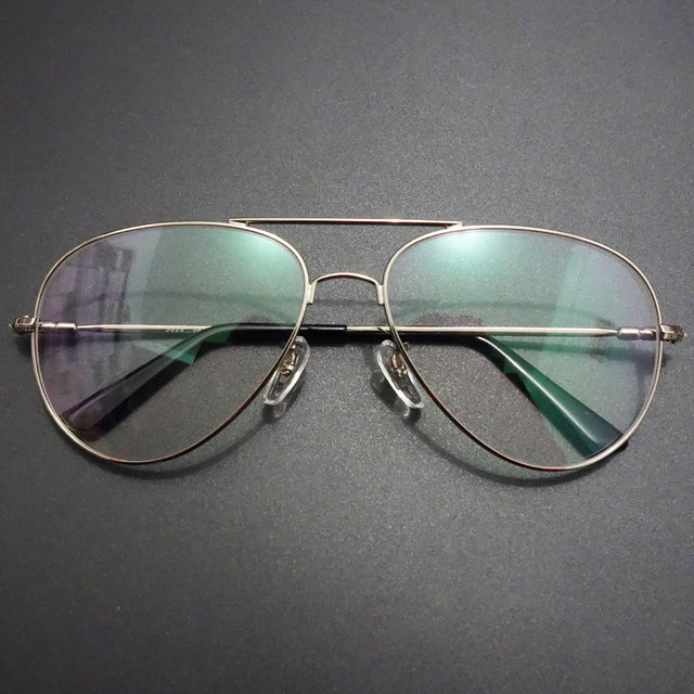 Óculos de titânio Memória Óculos De Armação de Metal Dos Homens de ... 48d8ae7b8f