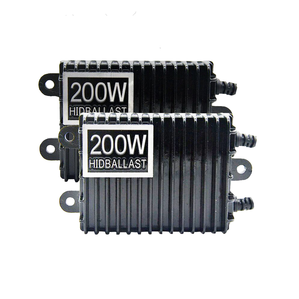 TPTOB 2 pièces 200 W pour HID Bi xénon mince numérique remplacement Ballast réacteur lumière pour H1 H3 H7 9006