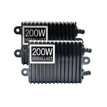 TPTOB 2pcs 200W For HID Bi Xenon Slim Digital Replacement Ballast Reactor Light For H1 H3 H7 9006(China)