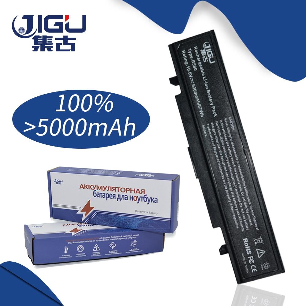 JIGU 5200MAH Laptop Battery For Samsung AA-PB9NC6B AA-PB9NS6B PB9NC6B R580 NP350V5C R525 R430 R530 RV411 RV508 R510 NP-R528 цена