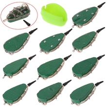 Fishing Feeder With Mould Carp Lead Sinker Method Bait Lure 30g-100g Accessories