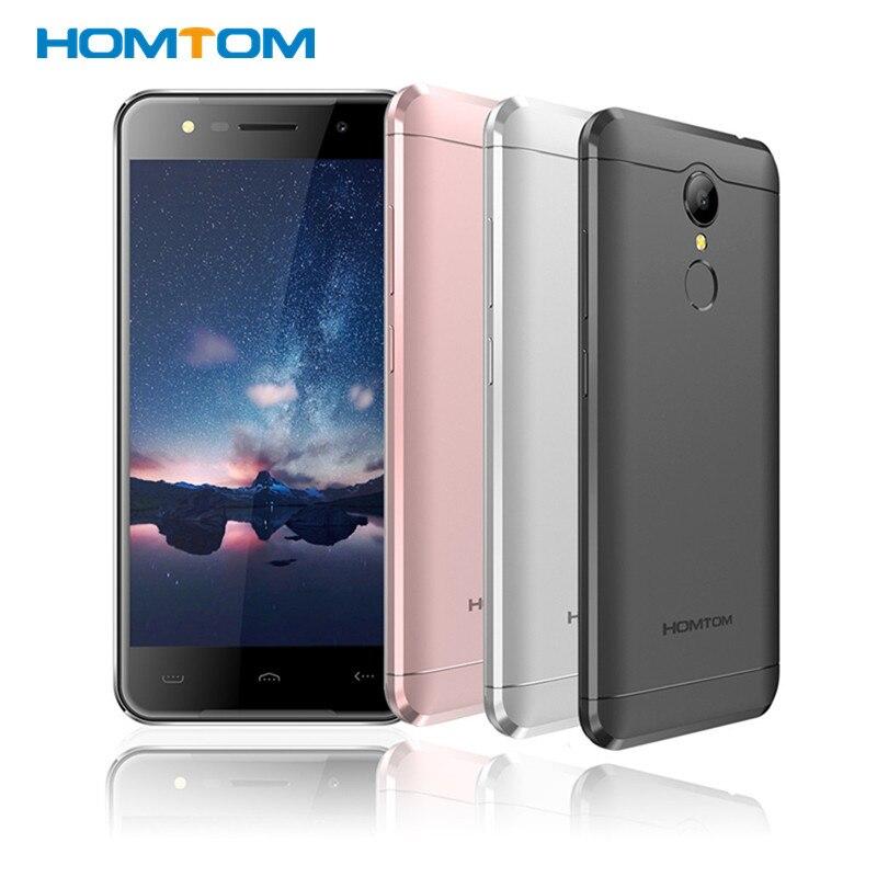 "Цена за HOMTOM HT37 Смартфон 5.0 ""IPS MTK6580 Quad Core Android 6.0 2 ГБ RAM 16 ГБ 13MP ROM 3000 мАч отпечатков пальцев мобильный телефон музыка света"