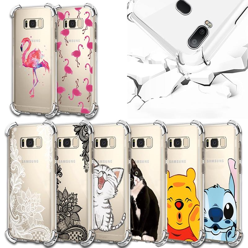 Flamingo For Samsung Galaxy A3 A5 A6 A6S A9S A7 2017 A8 A9 Star Pro Note 8 9 S7 Edge S8 S9 S10 Lite Plus S10e J4 J6 J8 2018 Case