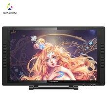 XP-Pen 22E Pro HD ips Цифровой Графический дисплей c экраном для професиональных разрешение 1080 P с разрешением 72% цветов с 16 экспресс-клавиш и регулируемая подставка