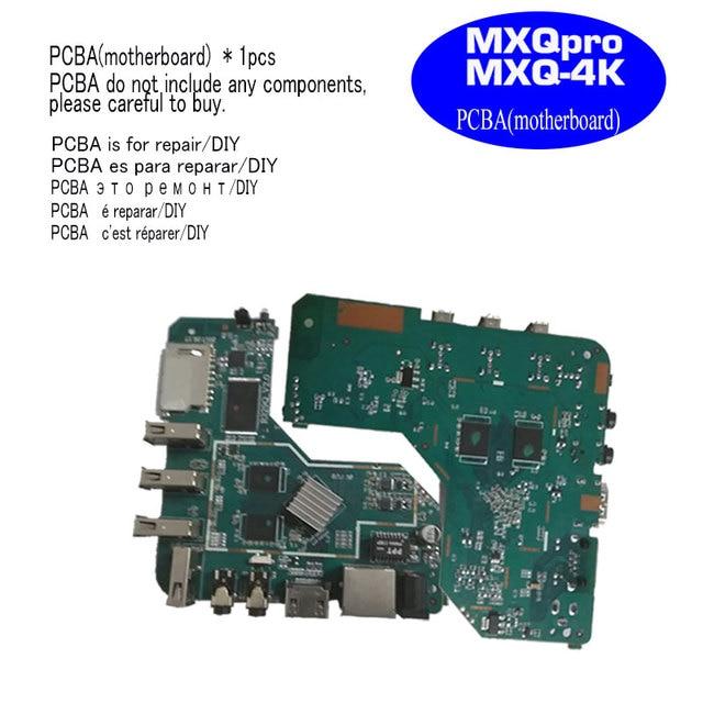 MXQpro MXQ4K anakart akıllı android tv kutusu 7.1 RK3229 1GB 8GB 2GB 16GB anakart PCBA dört çekirdekli tamir