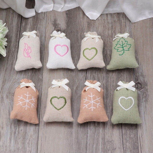 Sachet Linen Bag Fragrance Air Freshener Deodorizer For Car Home Room Closet