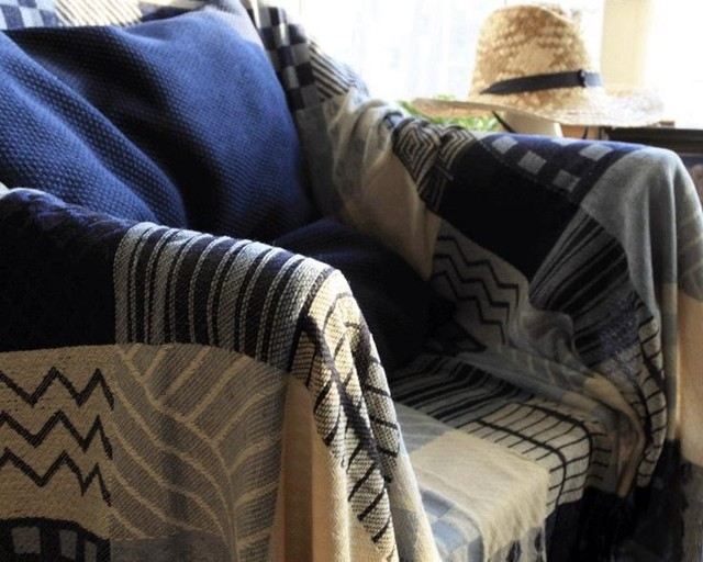 New Super Soft Chenille Throw Blanket Sofa Tv Thread Decorative Slipcover Bed Plane Travel