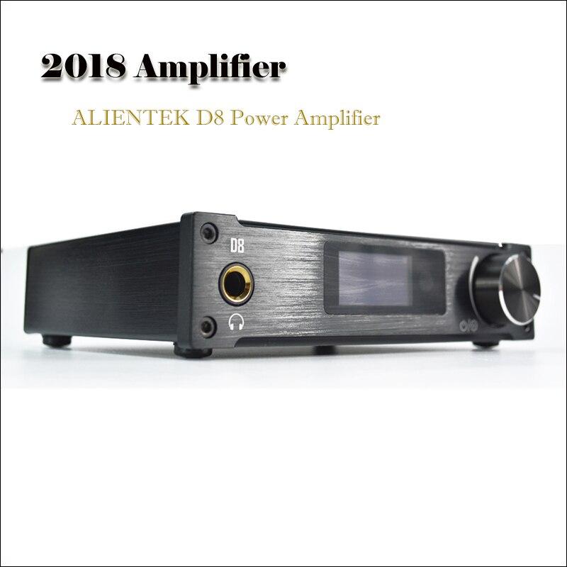 2018 Amplifiers ALIENTEK D8 Power hifi dac headphone Professional USB DAC Audio 80W PCM2704 XMOS DAC