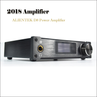 2018 Amplifiers ALIENTEK D8 Power hifi dac headphone Professional USB DAC Audio 80W PCM2704 XMOS DAC Amp Portable Amplificador