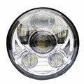 """Мотоцикл 5 3/4 """"светодиодные фары h4 высокий низкий пучок 5.75'' дюймовый фару Светодиодный Moto Фар объектив проектора daymaker привет низкой Для harley"""