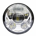 """motorcycle 5 3/4"""" headlight led h4 high low beam 5.75'' inch faro Led Moto Headlight projector lens daymaker hi low For harley"""