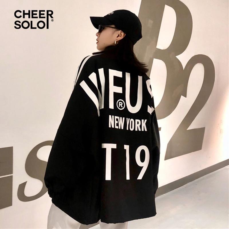Harajuku Oversized   Trench   Coat For Women Plus Size Letter Print Overcoat Women Windbreaker   Trench   Femme Autumn 2018