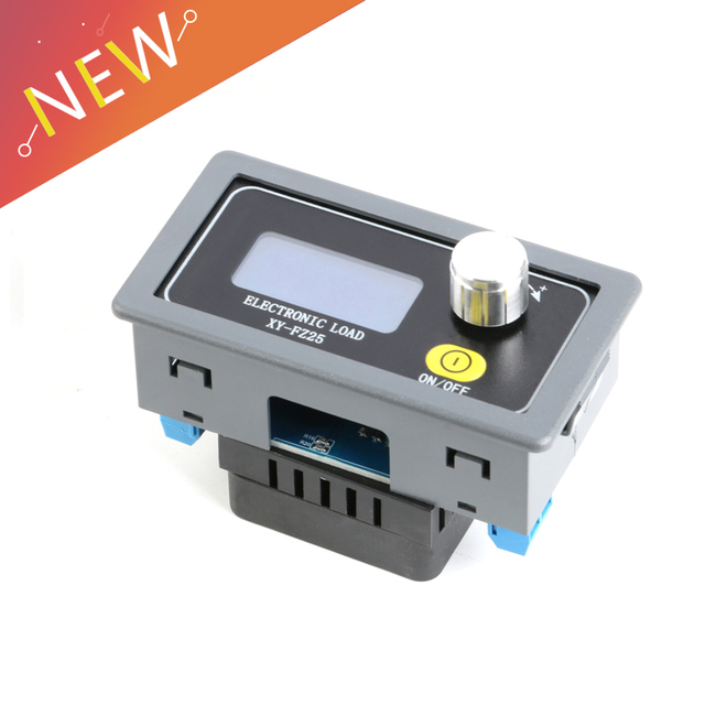 4A 25 ワット多機能バッテリー容量テスター調整可能な定電流電子負荷 USB 充電器テスター