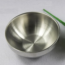 Thick 3mm stainless steel bowl beat egg salad bowl cooking baking bowl new arrival