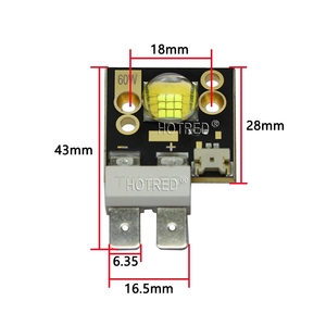 Image 3 - China Luminus CBT90 SCT90 CBT 90 CST 90 60W LED Diode Emitter Cold White Model for Follow spot light Stage Moving head bulb lamp