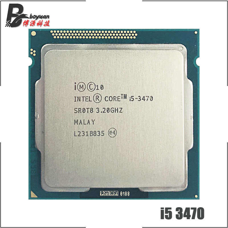 Intel Core i5-3470 i5 3470 3.2 GHz Quad-Core CPU Processor 6M 77W LGA 1155