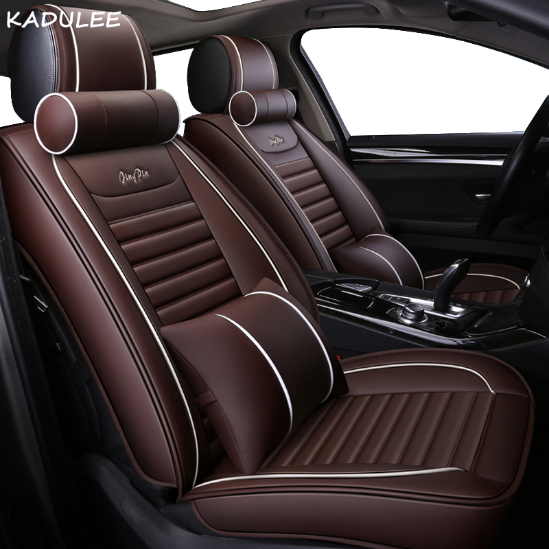 KADULEE car seat covers For Mazda 3 6 2 C5 CX-5 CX7 323 626 Axela Familia car automobiles accessories cushion seat covers new luxery flax universal car seat covers for mazda 3 6 2 c5 cx 5 cx7 323 626 axela familia car automobiles accessories cushion