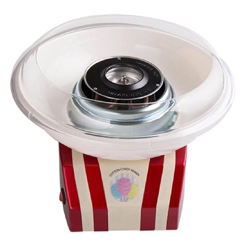 Mini Sweet Automatic Cotton Candy Machine Household Diy Cotton Candy Maker Sugar Floss Machine For Kids Eu Plug