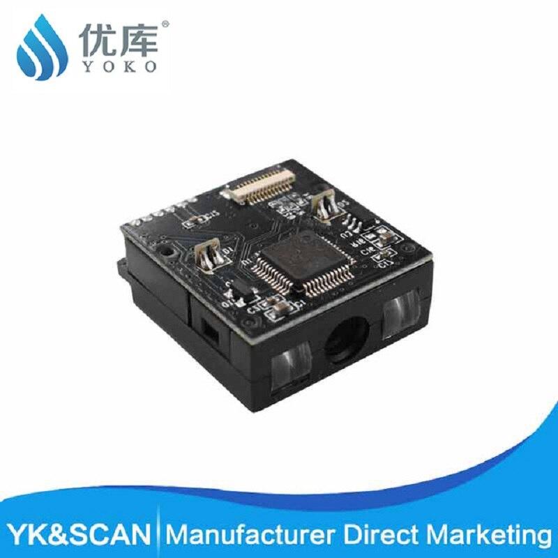 Youku 1D CCD Receipt Barcode Scanner TTL Rs232 USB Small Barcode Scanner Module 32 Bit Bar Code Scanner Scanner For Supermarket