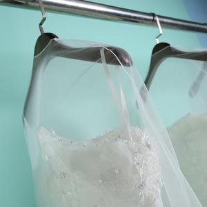Image 3 - Dài 160 Cm 180 Cm Trong Suốt Mềm Mại Voan Bụi Cho Nhà Quần Áo Váy Cưới May Áo Dài Cô Dâu Tấm Bảo Vệ Lưới sợi AC017
