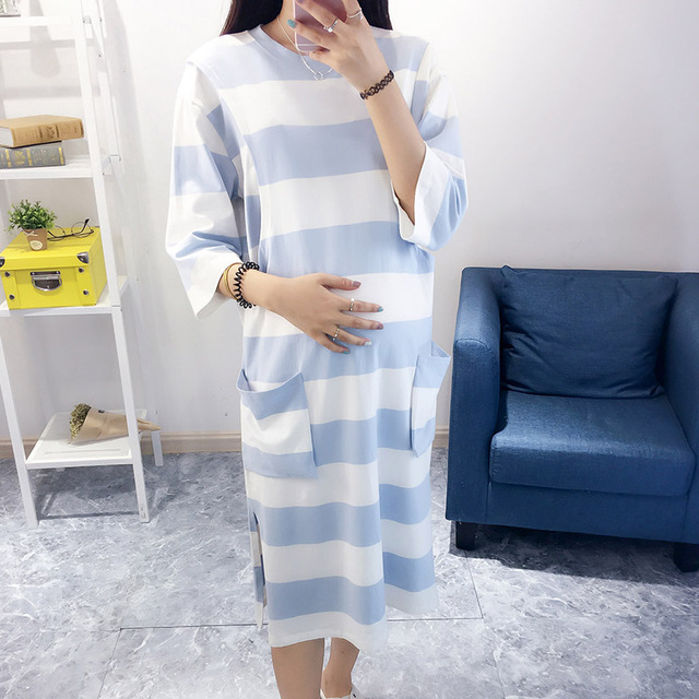New Arrival Maternity Sleepwear Loose Nursing Homewear Pregnant Women Pajamas for Pregnant Women