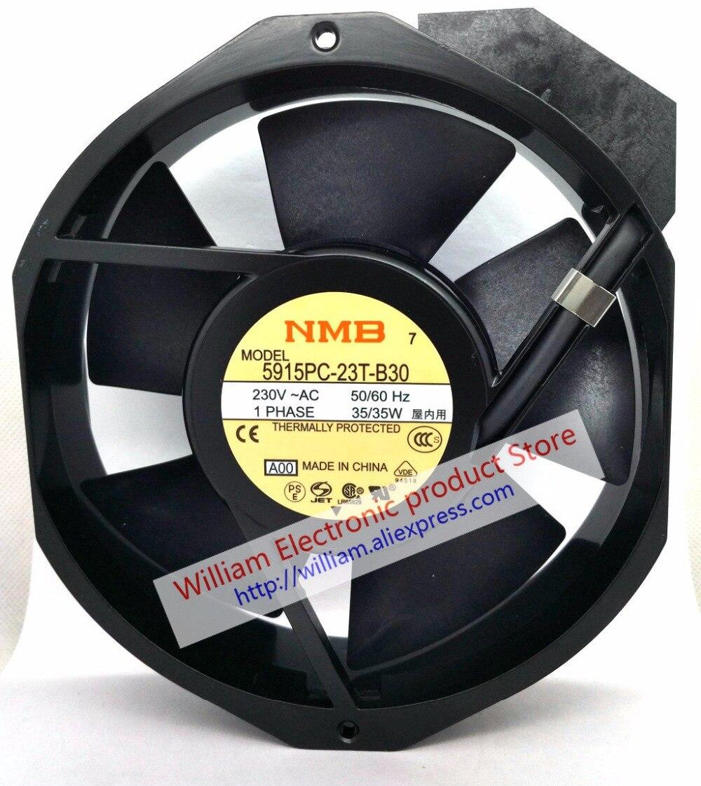 Nouveau ventilateur de refroidissement axial Original NMB 5915PC-23T-B30 172*38 MM AC220V 35 WNouveau ventilateur de refroidissement axial Original NMB 5915PC-23T-B30 172*38 MM AC220V 35 W