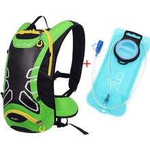 Brand Riding Backpack MTB 12L Bicycle Bag Outdoors Backpacks Trekking Bicycle backpack water bags Bolsa Bicicleta