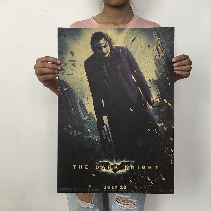 Mling 1 шт., 51,5x36 см, постер из серии Marvel, Мстители, война бесконечности, Ретро плакат, наклейки на стену для гостиной, украшение для дома - Цвет: H02