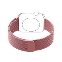 Milanese Loop For Apple Watch Band 42mm Strap Stainless Steel Link Bracelet Adapter For IWatch Strap