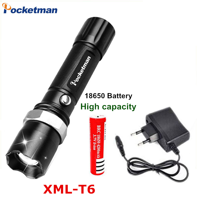 E17 XM-L T6 3800LM Aluminum Waterproof Zoomable LED Flashlight Torch light for 18650 Rechargeable Battery or AAA zk50 alonefire e17 xm l t6 5000lm aluminum waterproof zoomable cree led flashlight torch light for 18650 rechargeable battery or aaa